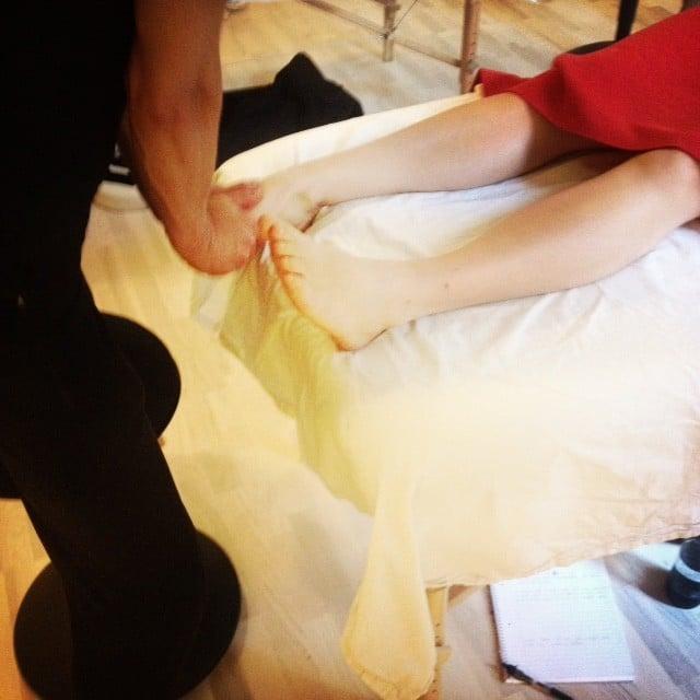 Kropsterapi og fødderne