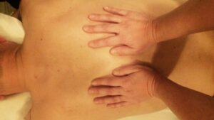 ledfrigørelse af øvre ryg
