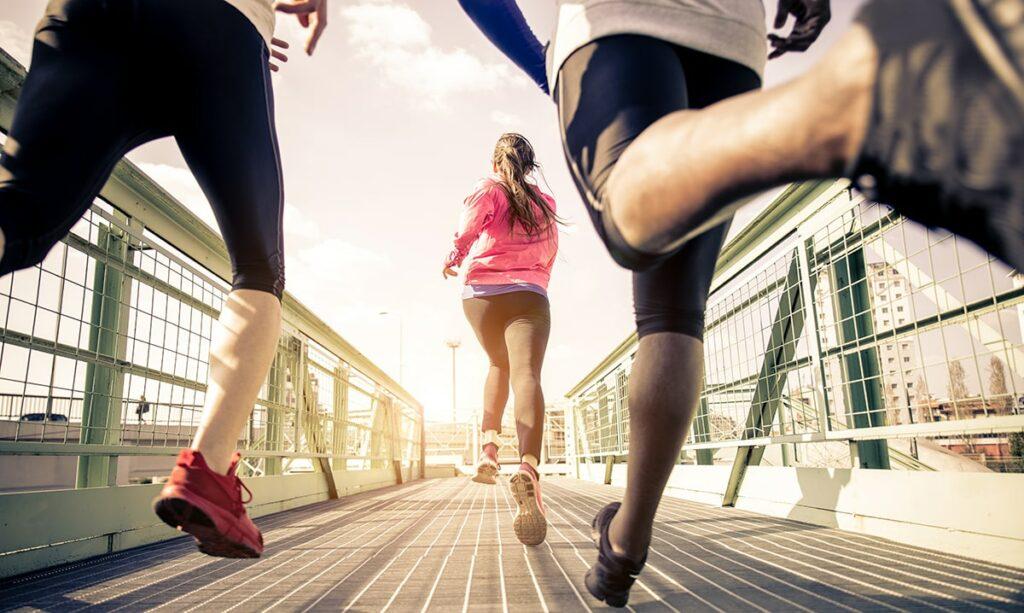 Løb marathon min
