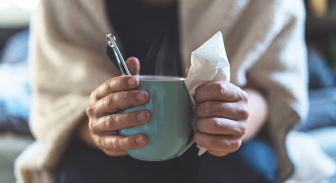 Slip af med forkølelsen med 2 simple øvelser