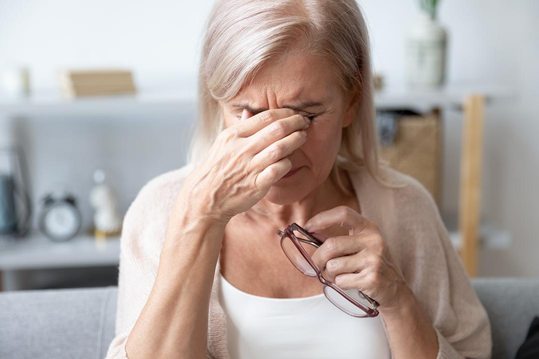 Totum kropsterapi kan lindre øjensmerter