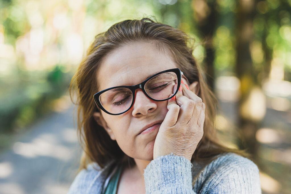 Stress og kæbespændinger
